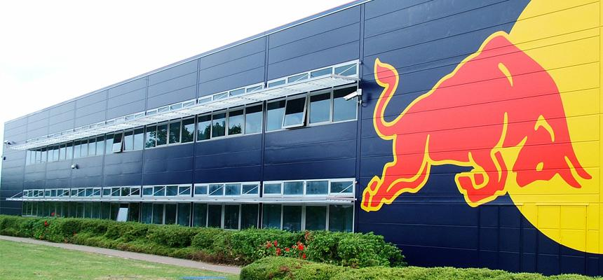 Red Bull Offices red bull racing office, milton keynes, united kingdom | commercial